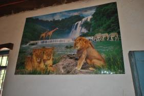 Chinese poster at Madina Hotel